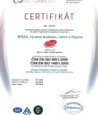 Integrated Management System CZ | Certificates