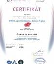 The Quality Management System CZ | Certificates