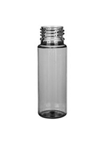 Plastic bottle 60 ml limpid, thread PCO 28