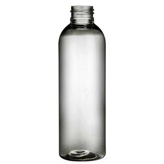 Plastic bottle 200 ml limpid, thread GL24