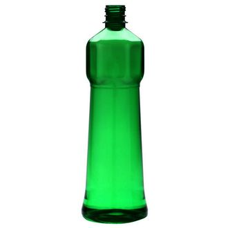 Plastic bottle 1 l green - special