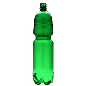 Plastic bottle 1.5 l green