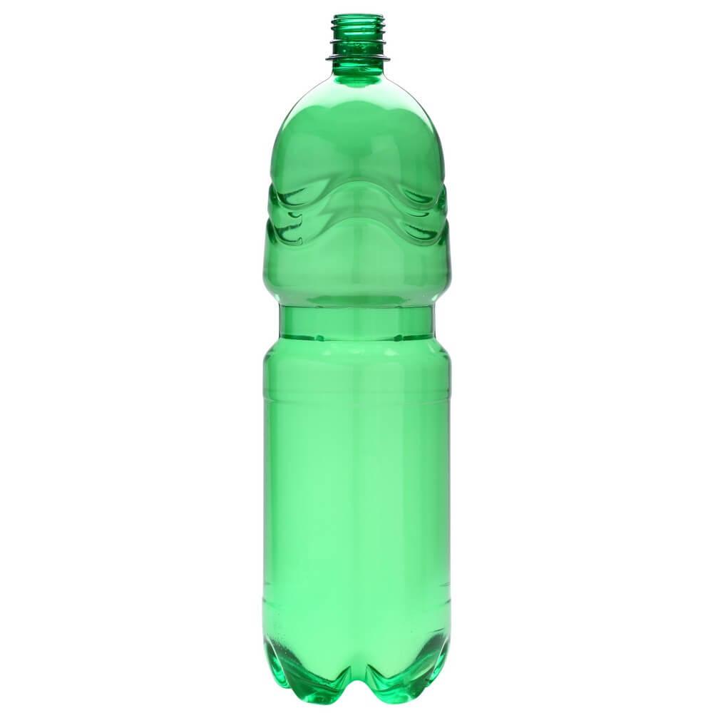 Plastic bottle 2 l green - classic   Briskvd.cz