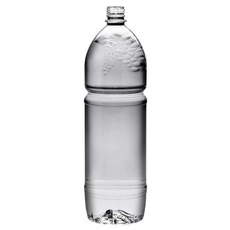 Plastic bottle 2 l limpid - grape