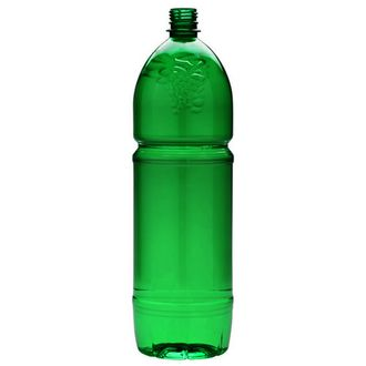 Plastic bottle 2 l green - grape