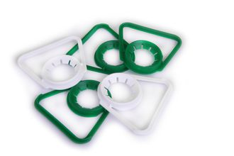 Set of plastic holders - bottles