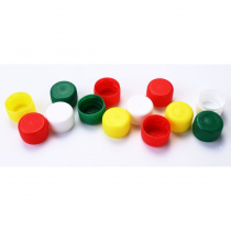 Set of plastic caps - bottles