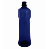 Plastic bottle 1 l blue - special