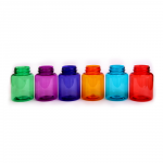 Plastic bottles with wide neck 200 ml color, thread GL44 - Další 1