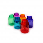 Plastic bottles with wide neck 200 ml color, thread GL44 - Další 3