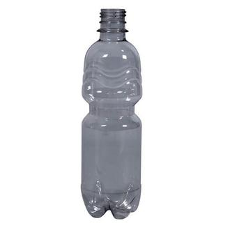 Plastic bottle 0.5 l limpid