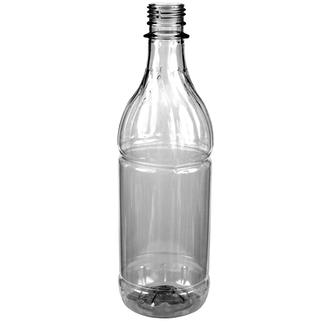 Plastic bottle 0.62 l limpid