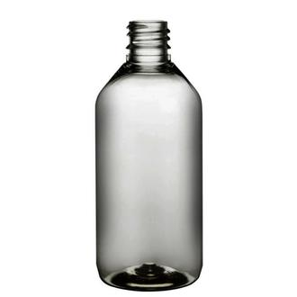 Plastic bottle 115 ml limpid, thread g18x3