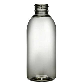 Plastic bottle 200 ml limpid, thread PCO 28